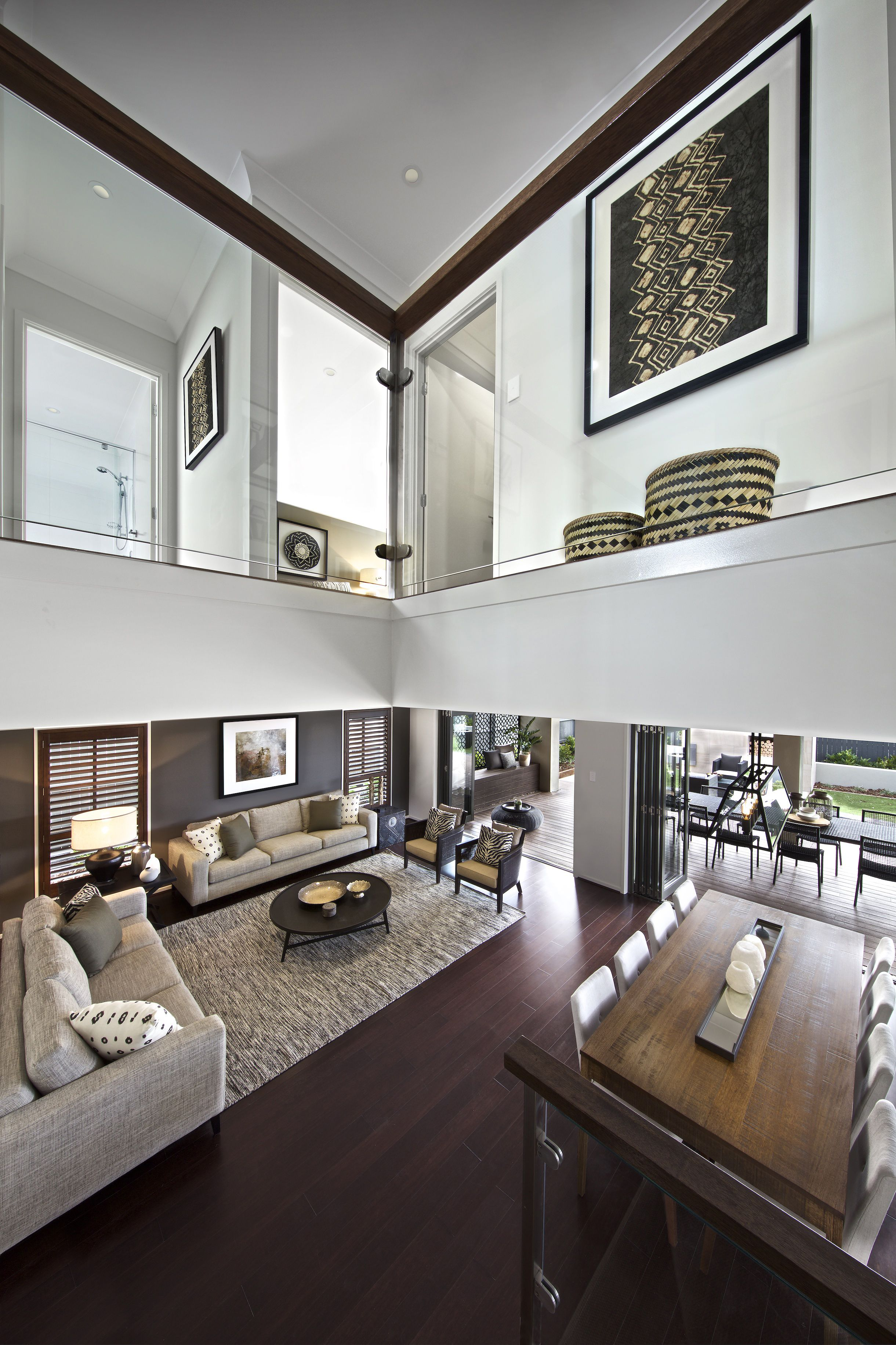 Clarendon Homes. Madison 39. Open Plan Living With Meals
