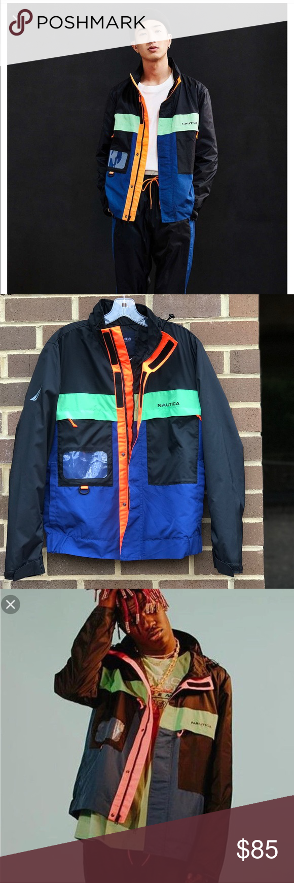 6hrsale 2xhp Uo Nautica Vintage C Jacket Urban Outfitters Jacket Jackets Clothes Design