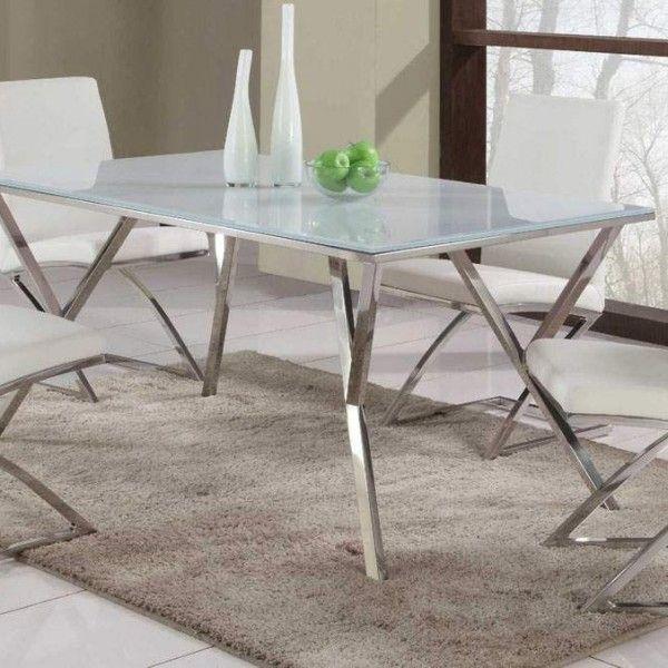 Esszimmer-Möbel-Design-Auszugstisch-Yemon-weiße-Stühle Interieur