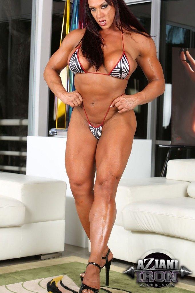 Amber De Luca   Women beautiful muscles   Pinterest   Amber