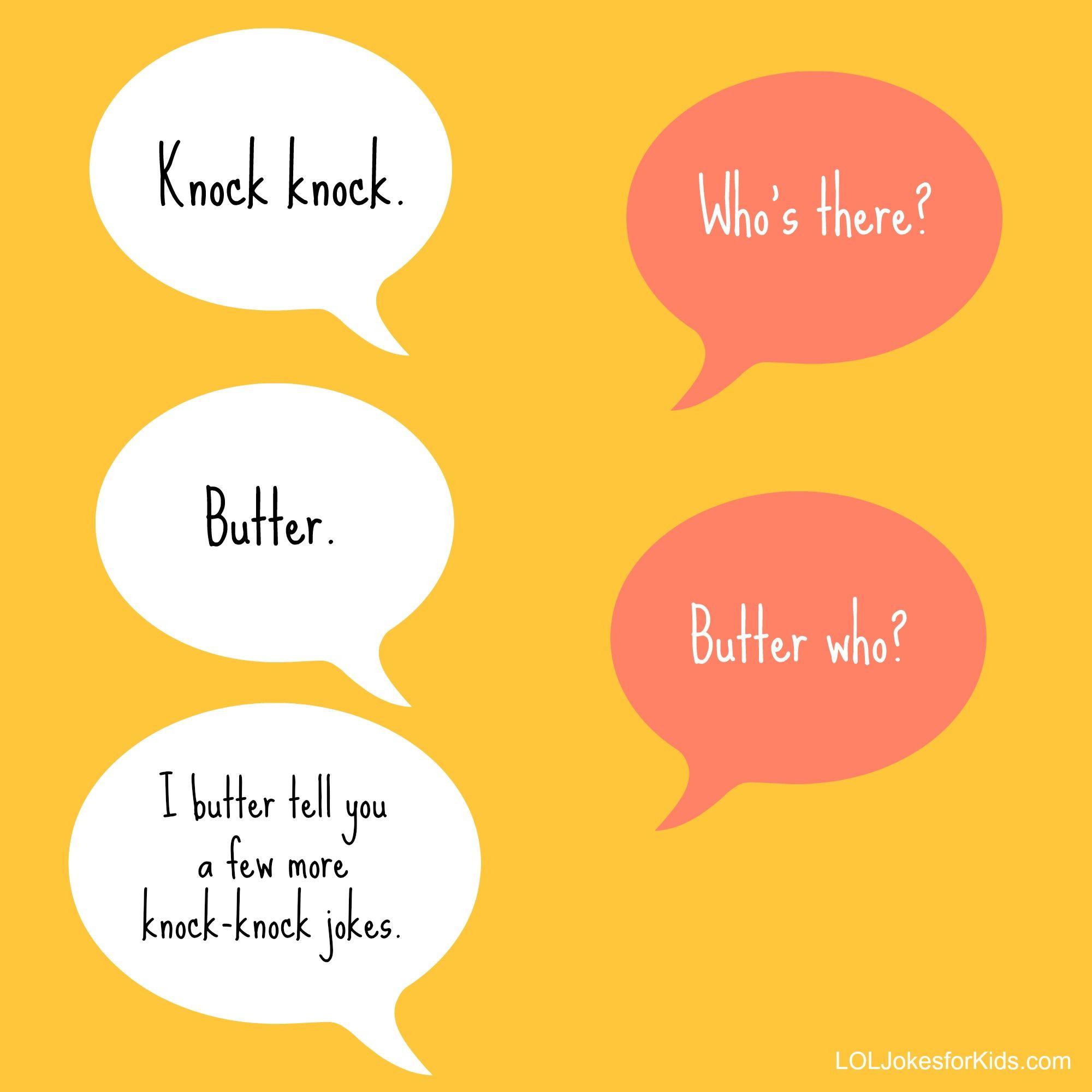 Knock knock jokes dating