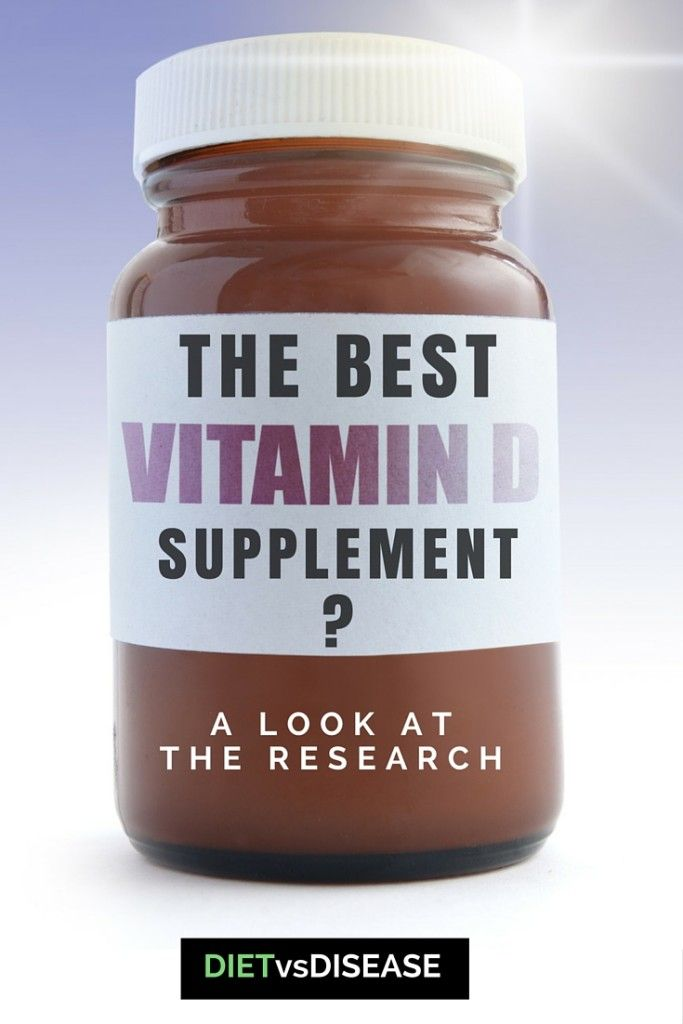 What Is The Best Vitamin D3 Supplement A Look At The Research