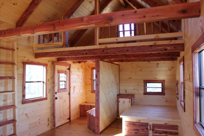 Trophy amish cabins llc 12 x 32 xtreme lodge 648 s f for 20 x 32 cabin with loft