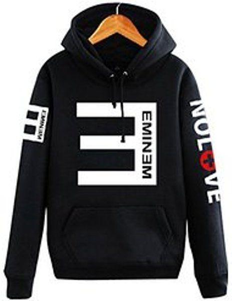 Eminem Arrest Hoodie Black Kapuzenpullover Hooded Sweater