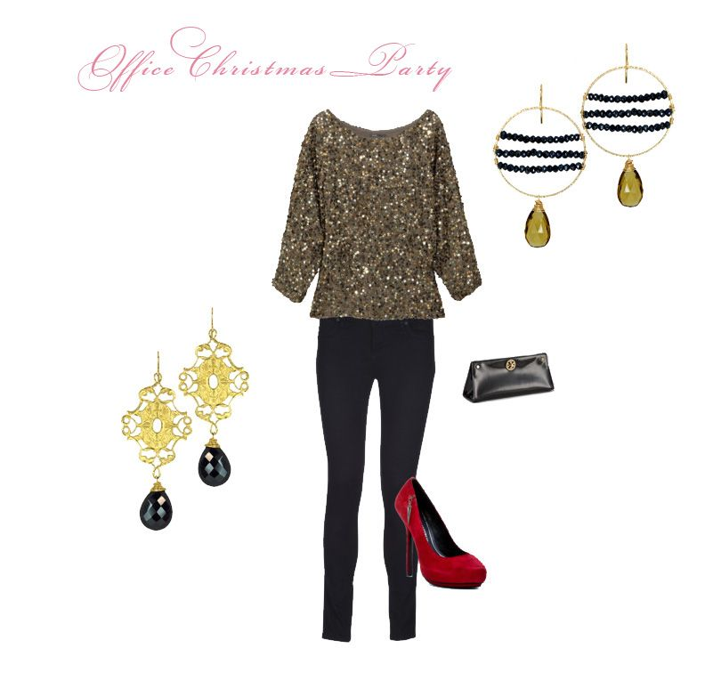 office christmas party outfit ideas
