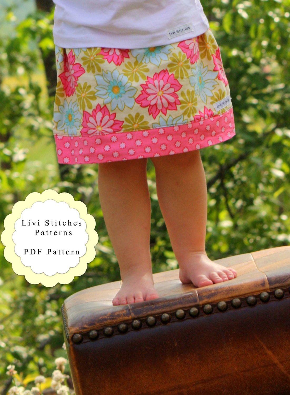 Sophia Skirt Sewing Pattern Instant par livistitchespatterns, $6,00