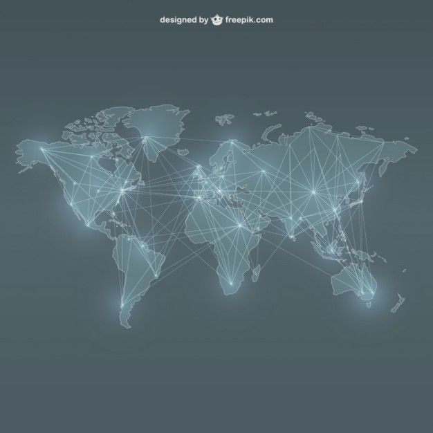 More than a million free vectors psd photos and free icons world map networking free vector gumiabroncs