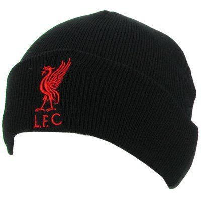 Liverpool FC - Authentic EPL Knitted Hat TU Black by Liverpool.  13.89.  Brand New ced2ead85cd