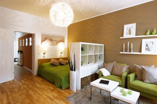 schlafzimmer im wohnzimmer – bigschool, Schlafzimmer ideen