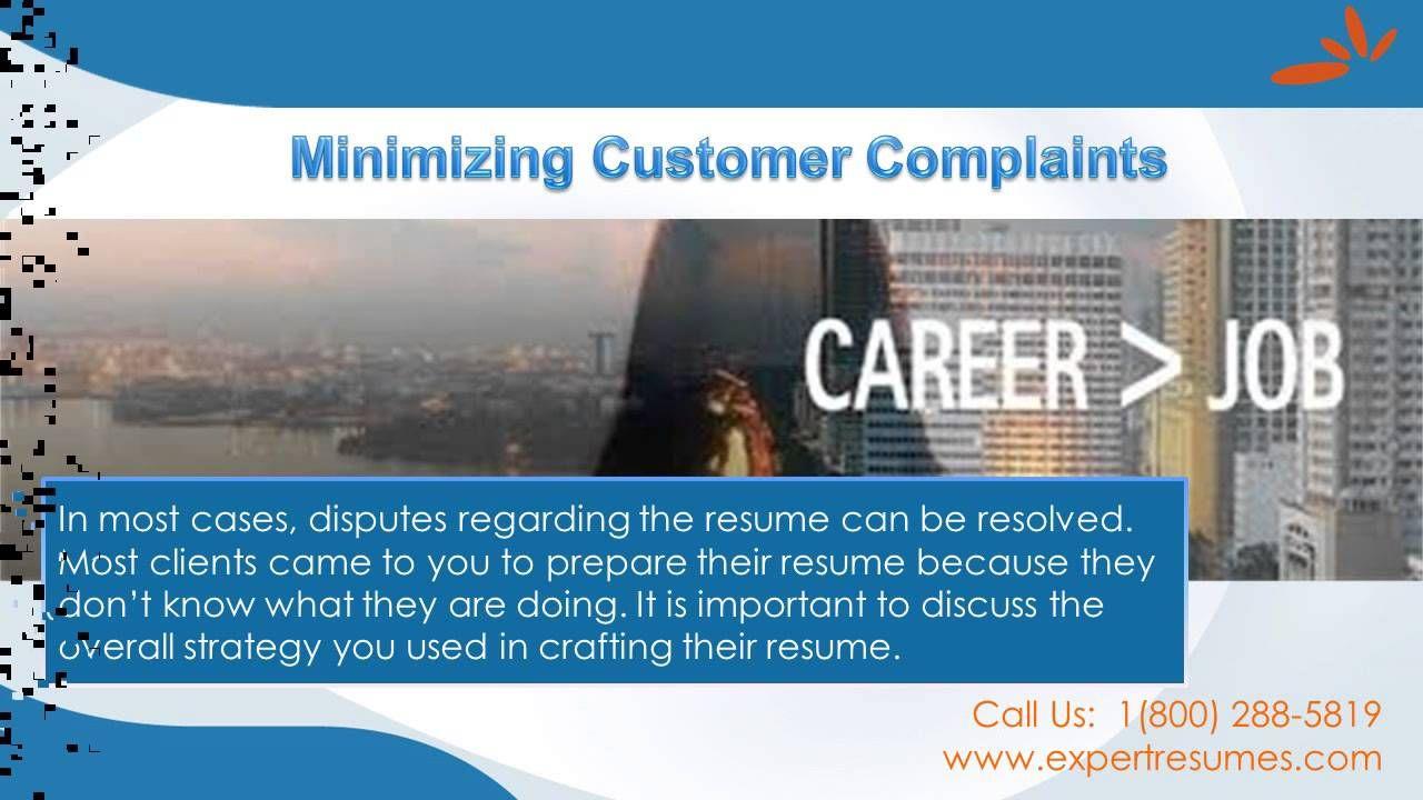 Resume writing service guarantee