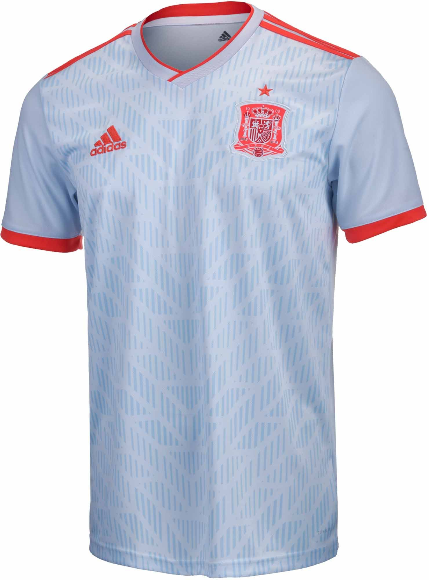 3296f66e adidas Kids Spain Away Jersey 2018-19 NS | Kids Licensed Soccer ...