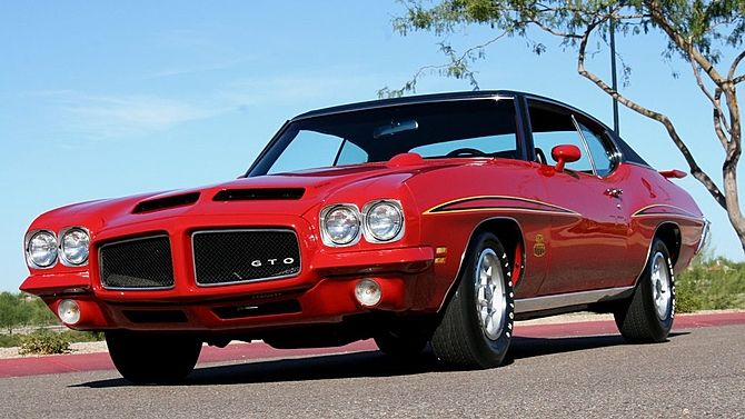 1971 Pontiac GTO Judge 455/335 HP, 1 of 357 Produced presented as ...
