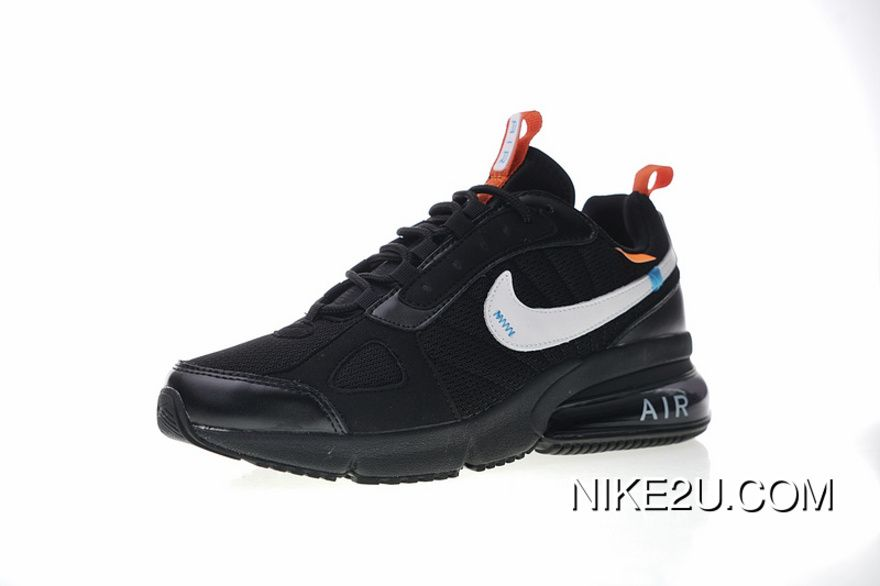 8f273af137 Retro Shoes Surface Ultra Thick Zoom Creative Customized Offwhite X Nike  Air Max 270 Severe Future Series Wind All Retro-match Zoom Jogging Shoes  Black OW ...