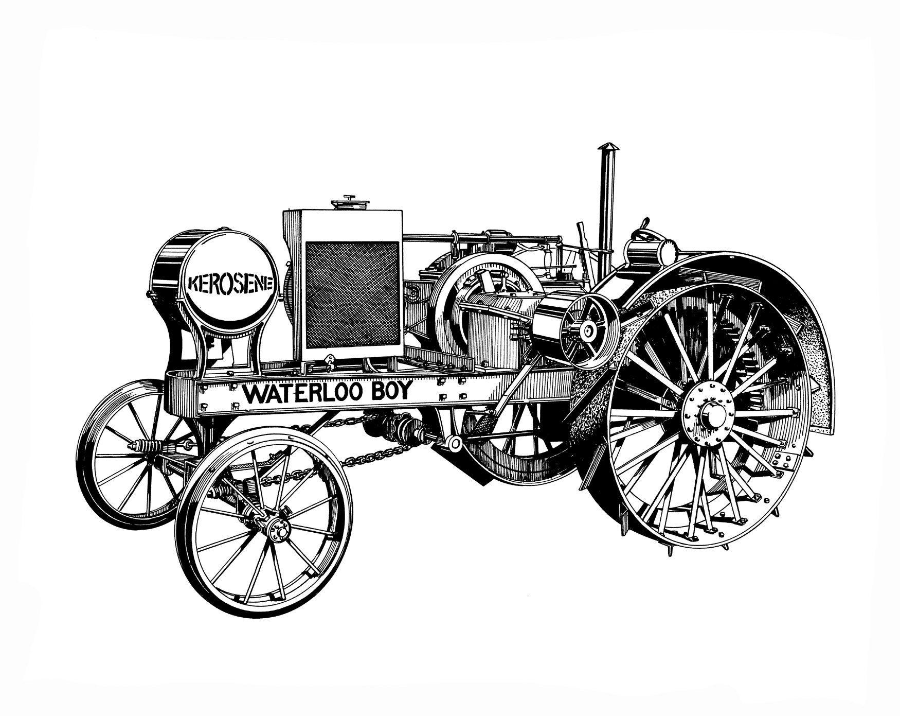 Waterloo Boy Kerosene Tractor John Deere