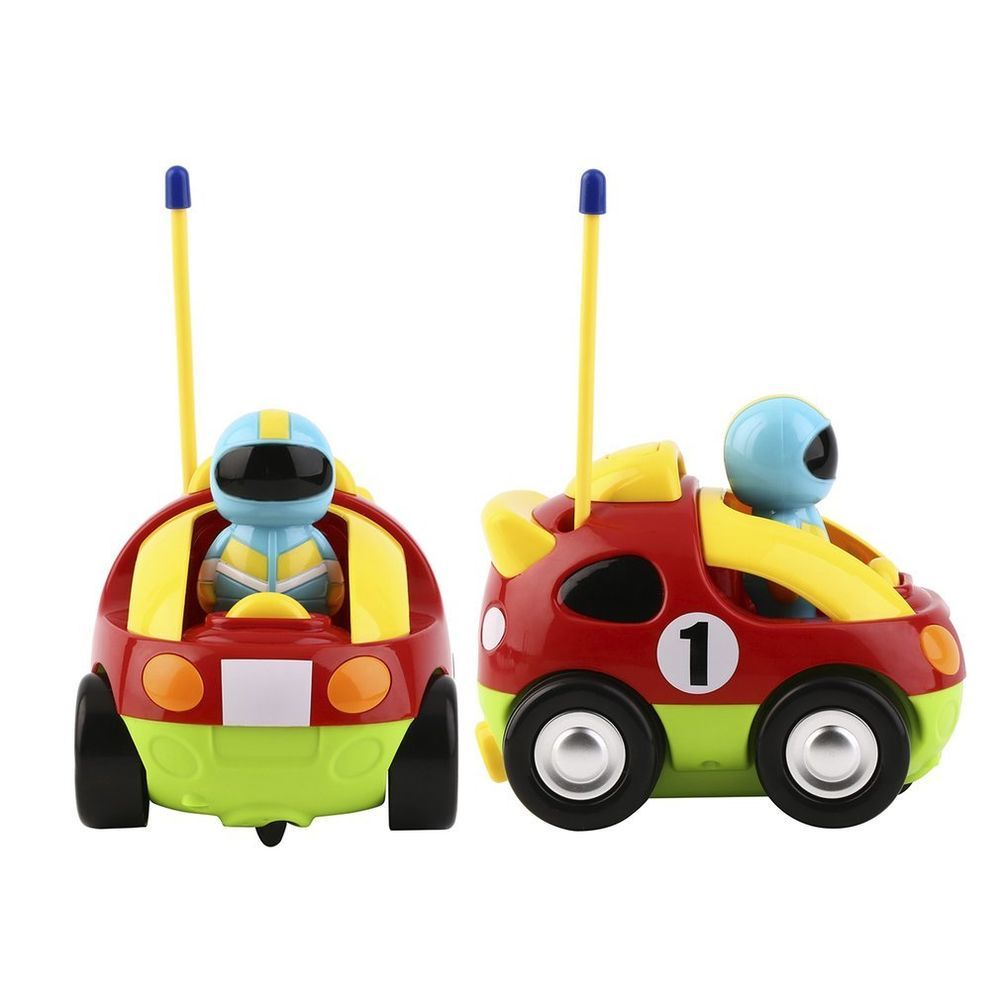 Car toys for toddlers  Toys Kids Play Cartoon Race Car Radio Control Remote Fast RC Car