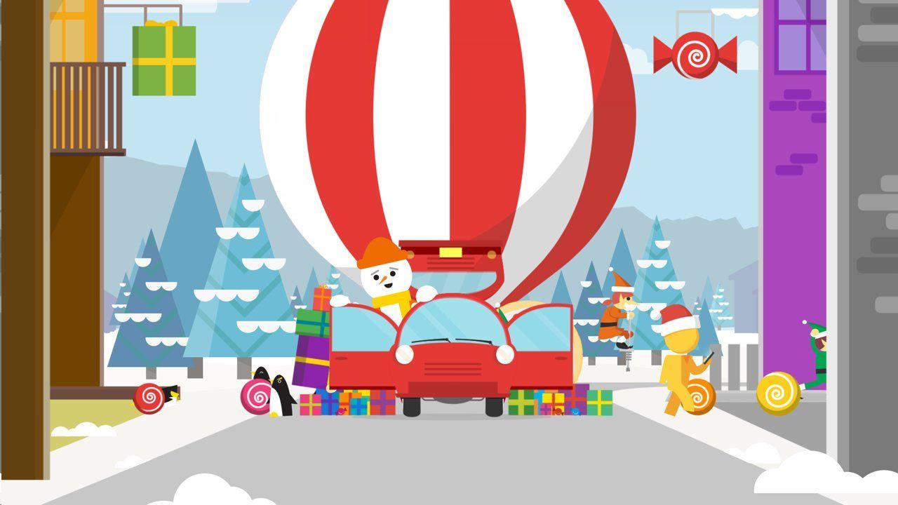 Google Santa Tracker Carpool by Seth Eckert at Upperquad
