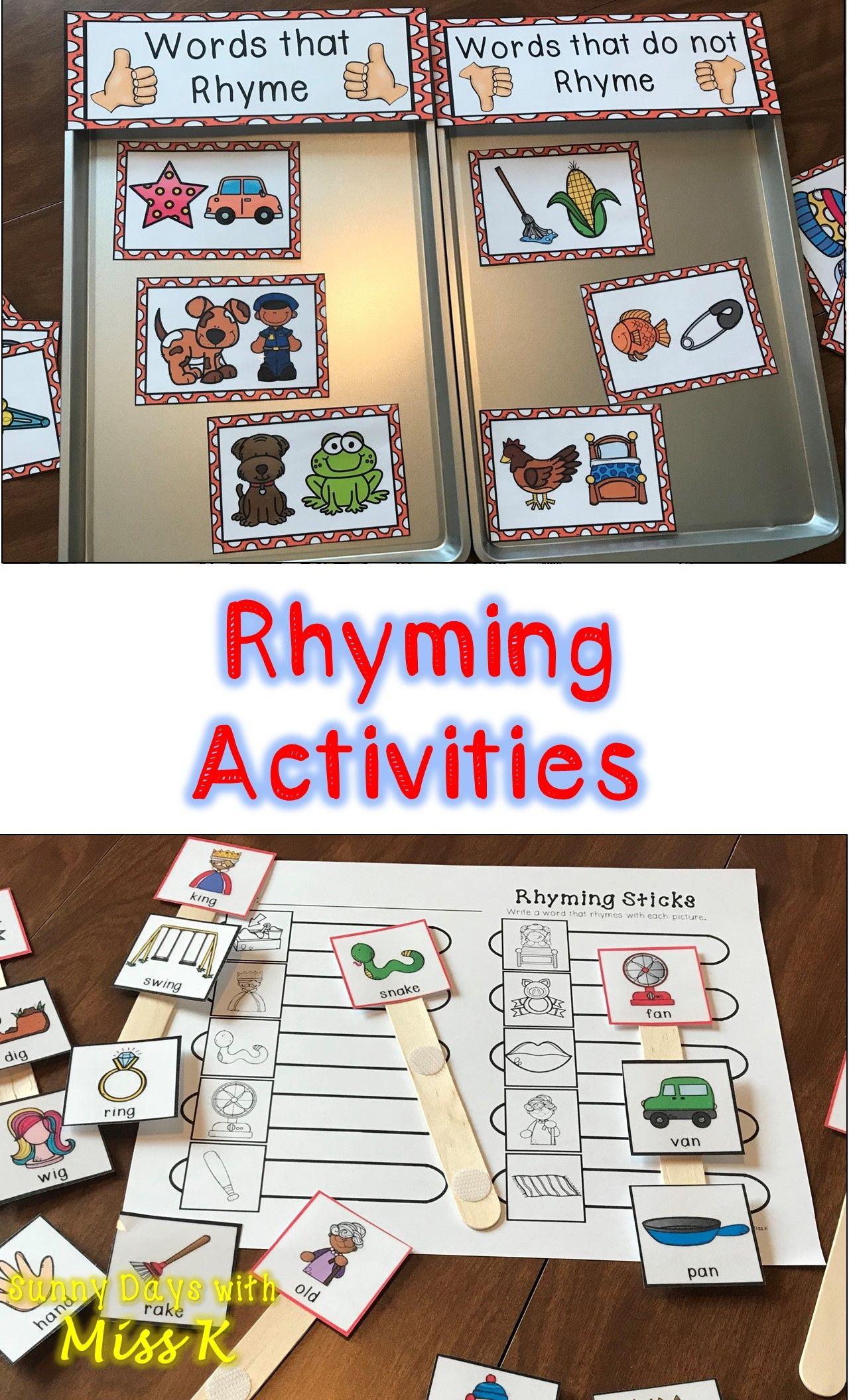 Rhyming Center Bundle