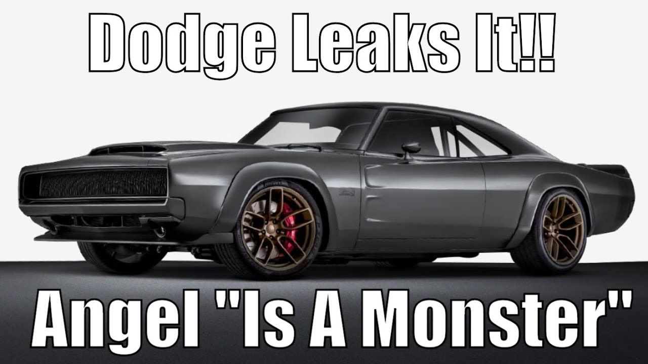 Dodge Leaks It Angel Is A Monster It Will Run Low 9 S Youtube Dodge Ford Excursion Diesel Toyota Rav4 Hybrid