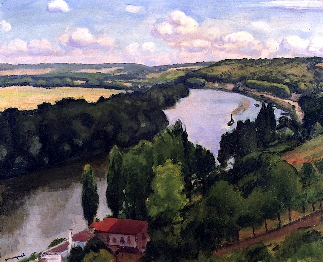 LAWRENCE LEE MAGNUSON: Albert Marquet (France 1875-1947) The Hills of...