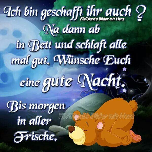 Pin Von Birgit Crews Auf Guten Abend Gute Nacht Gute