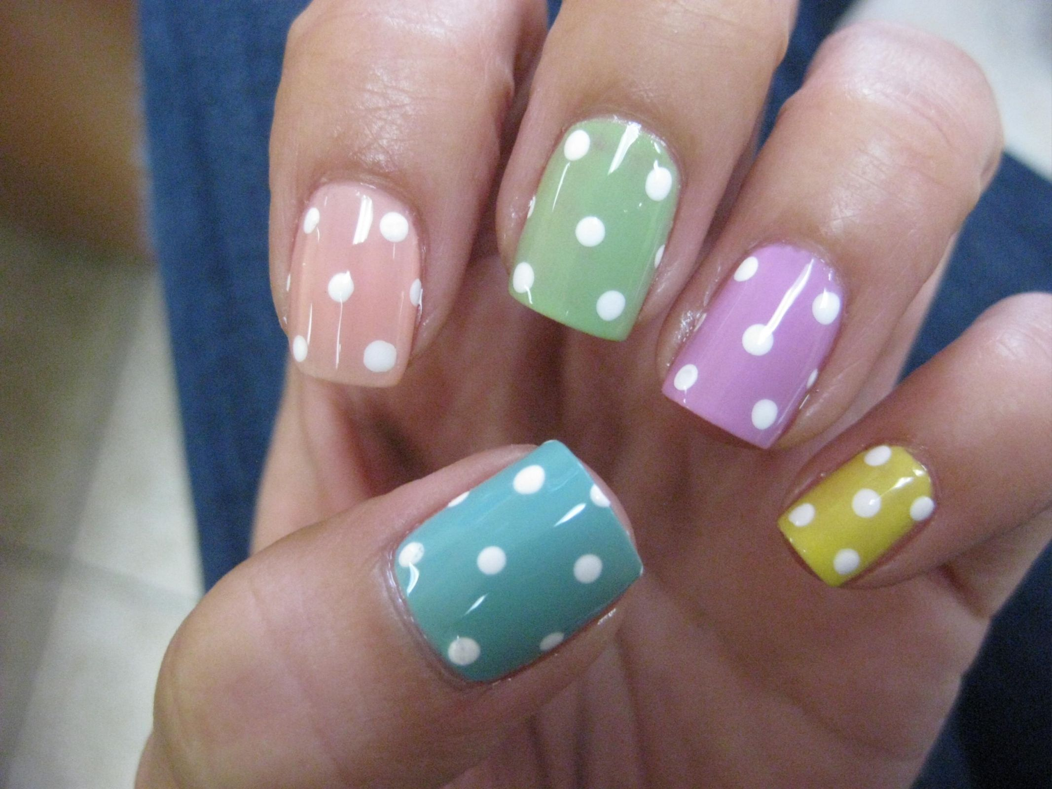 fun Easter nail colors | fun nails | Pinterest | Easter nails ...