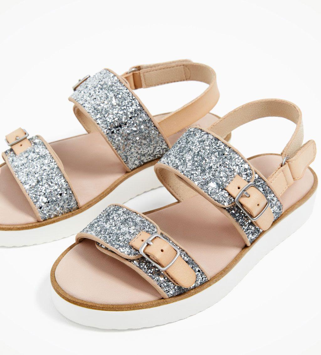 Niños Niña Zara Todo 14 Sandalia 4 Glitter Años Ver Zapatos ZwTnn8Sq