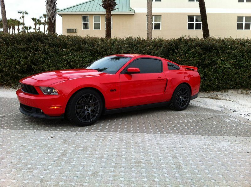 Red Mustang With Black Rims Thread Amr Wheels Charcoal Or