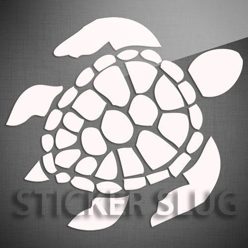 Sea Turtle Ocean Animal Decal Sticker Vinyl Custom Wall