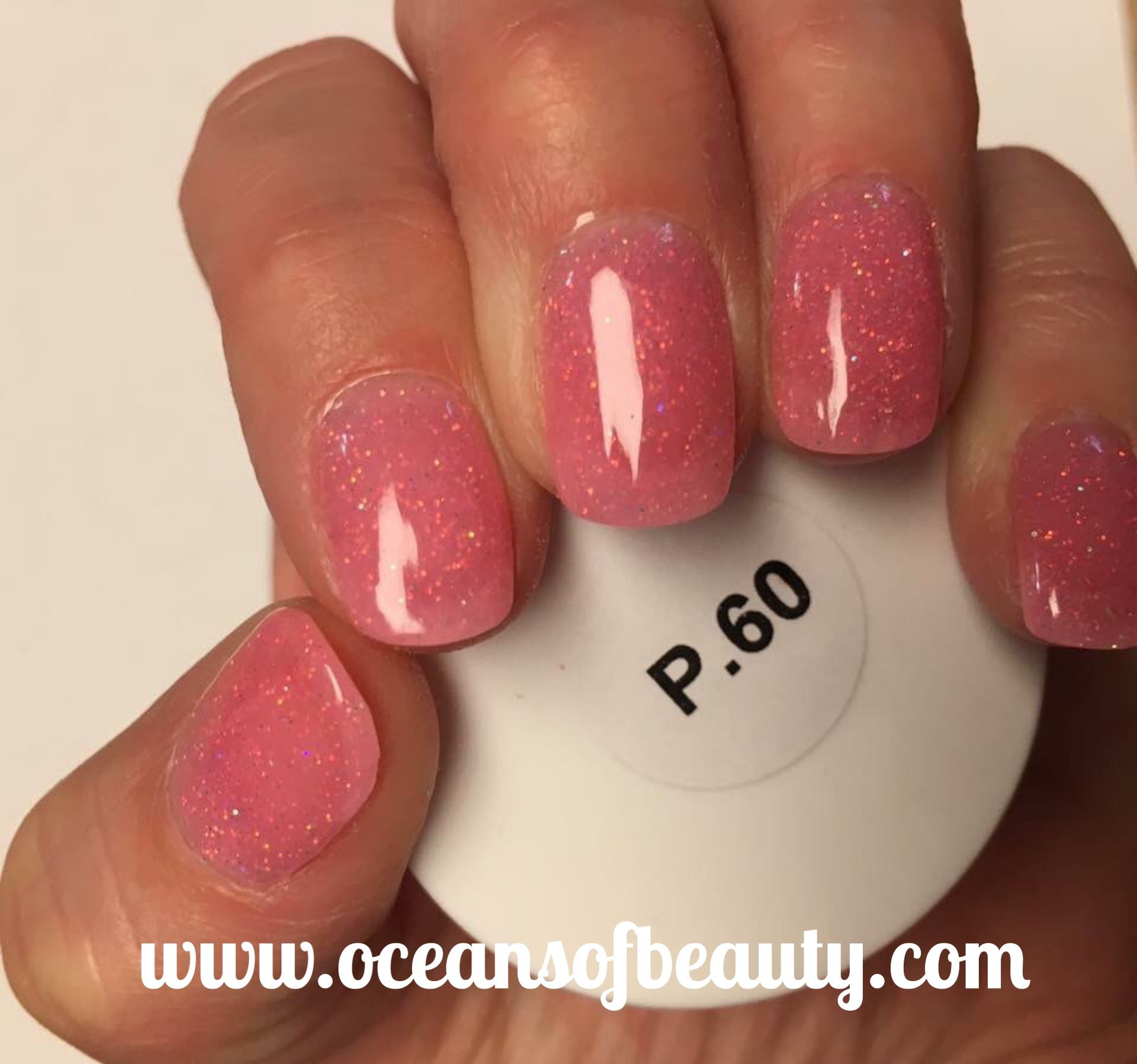 P.60 EZdip Gel Powder. DIY EZ Dip. No lamps needed, lasts 2-3 weeks ...