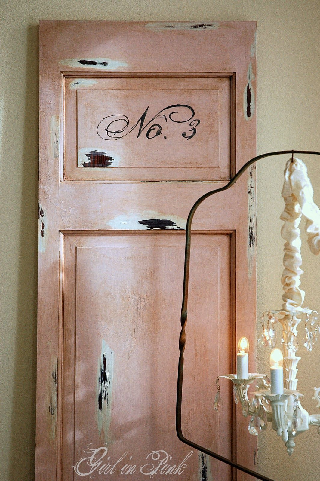 Shabby door in Antoinette with dark wax. & Shabby door in Antoinette with dark wax. | For the Home | Pinterest ...
