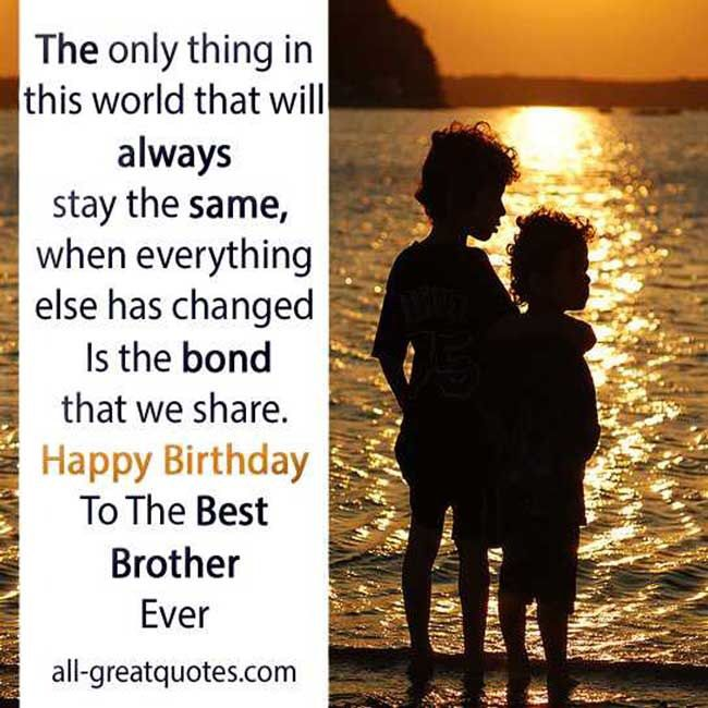 Happy Birthday To My Little Brother 2015