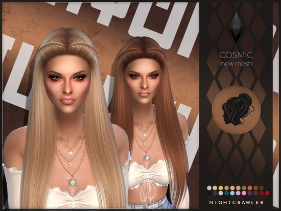 Photo of NEW HAIR MESH  Found in TSR Category 'Sims 4 Female Hairstyles'