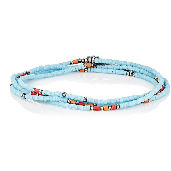 M. Cohen Mens Beaded Cord Bracelet BY9BykK5