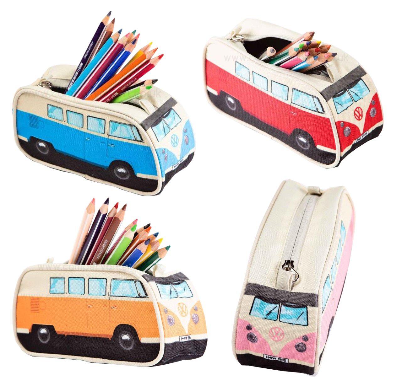 Campervan Gift - Official Volkswagen Campervan Pencil Case, £6.95 (http://www.campervangift.co.uk/official-volkswagen-campervan-pencil-case/)