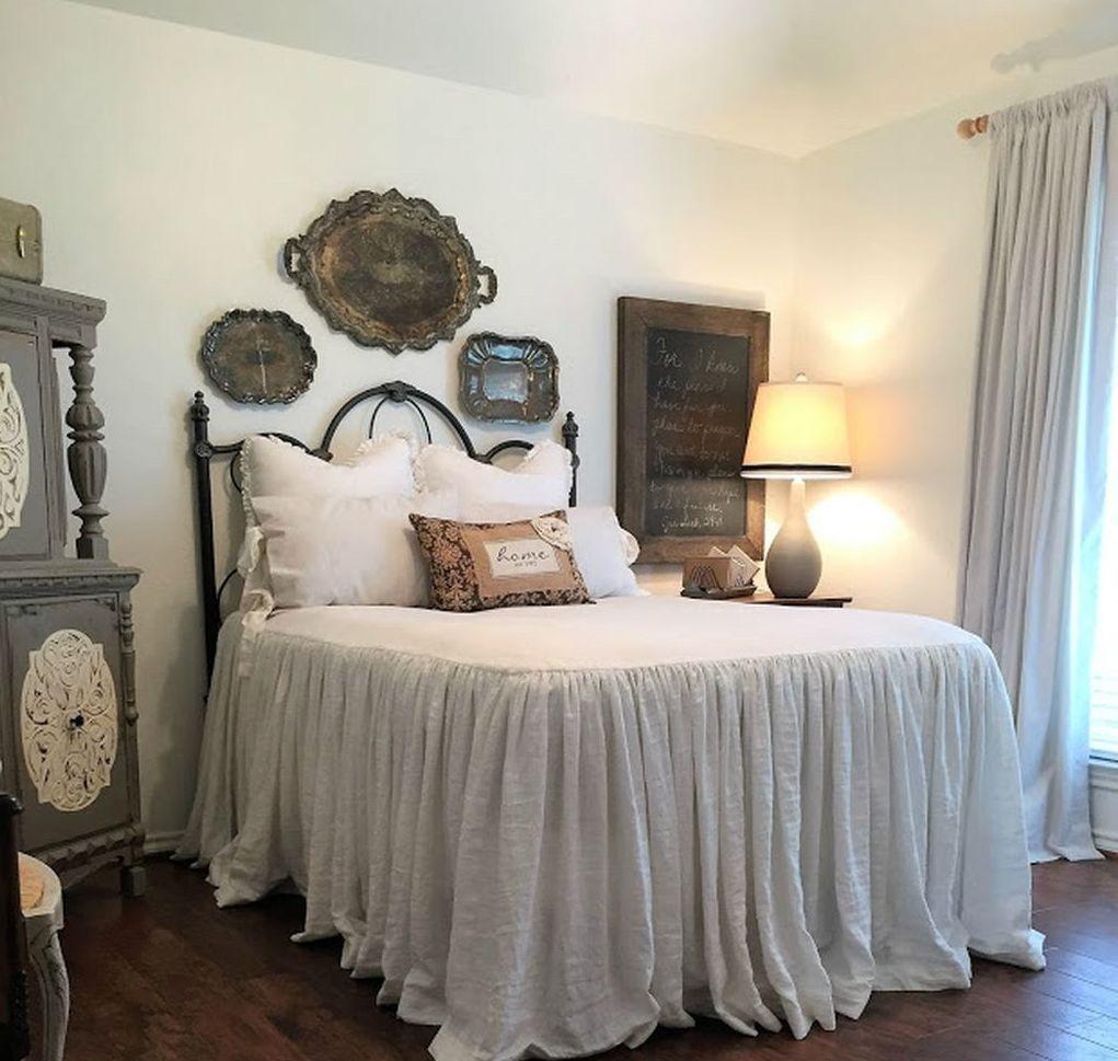 05 Modern Rustic Farmhouse Bedroom Ideas: Rustic Farmhouse Style Master Bedroom Decorating Ideas (28