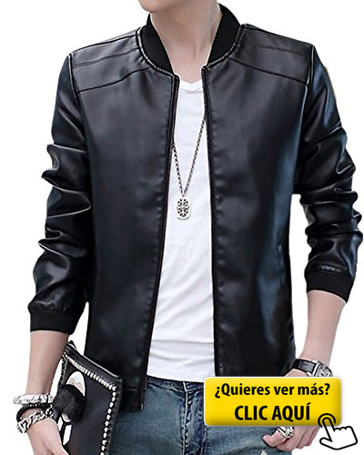 f022a7e7ed6d Chaqueta Cazadora Imitación De PU Piel Manga... #chaqueta | moda en ...