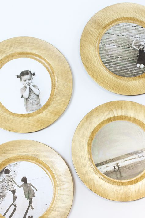DIY Wood Plate Wall Art | Plate wall, Diy wood and Turned wood