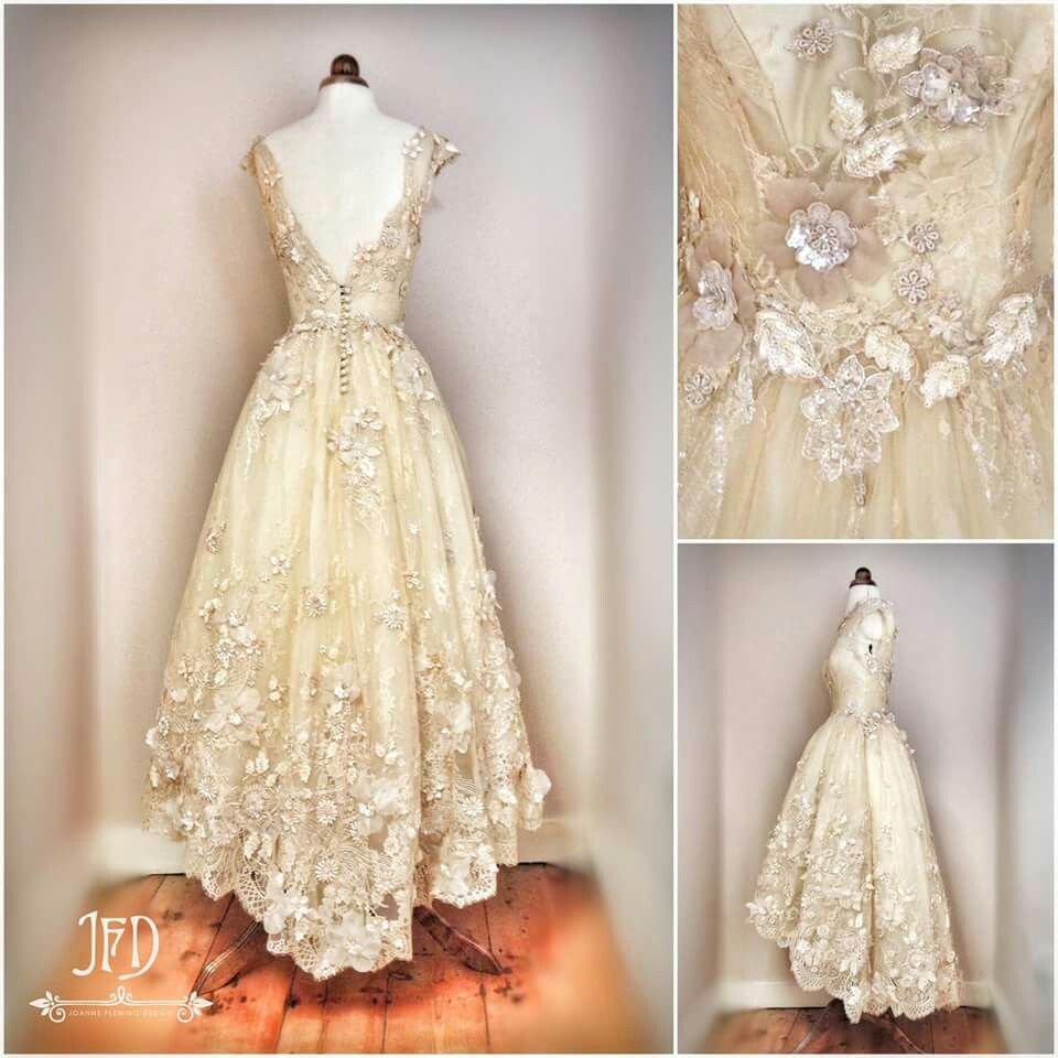 50s wedding dress lace  Joanne Fleming Design I really really like this  Wedding Dresses