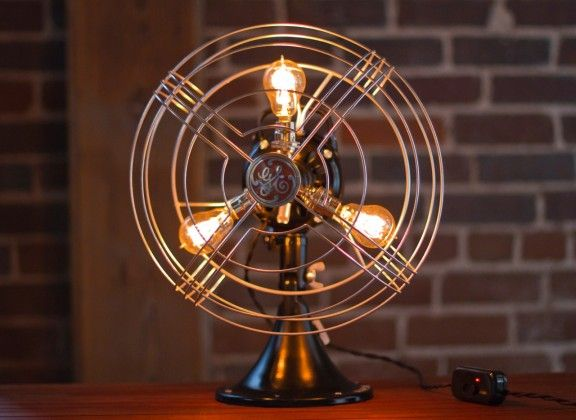 Vintage Fan vintage fan lamp giveaway! ($395.00 value!) | www