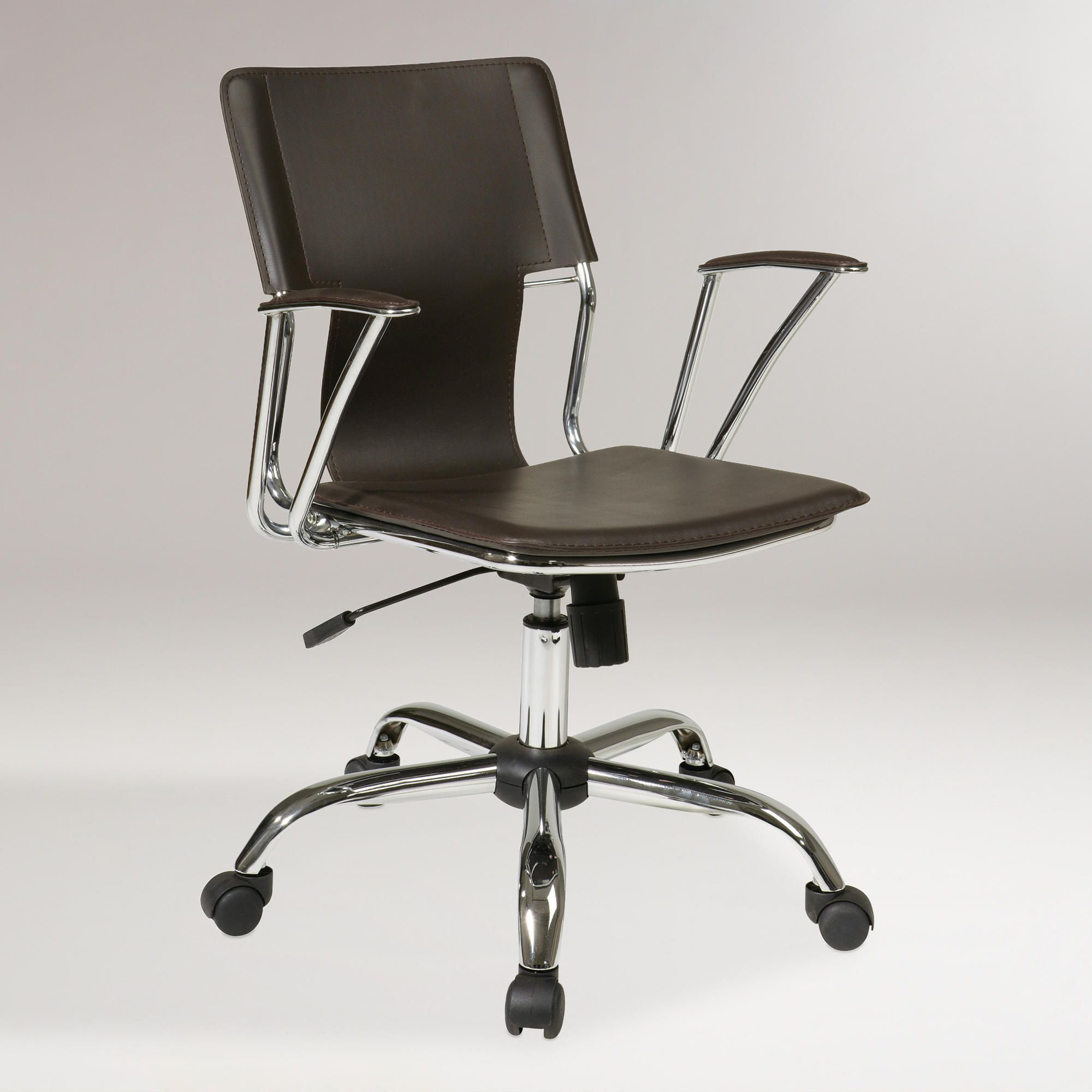 Espresso Ethan Office Chair With