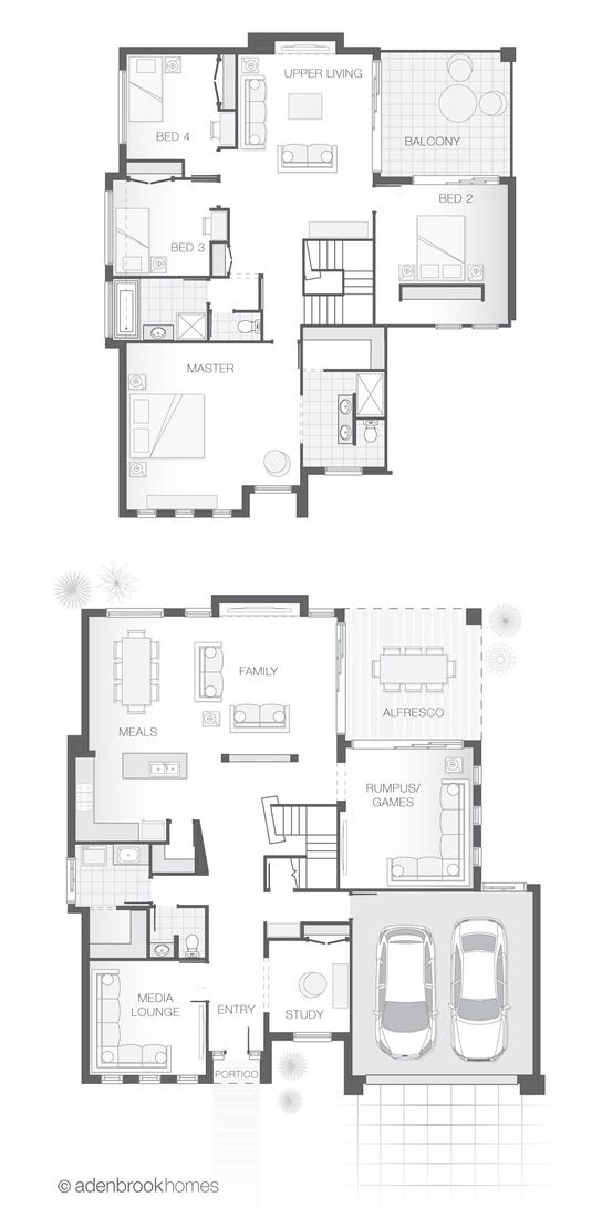 With Indoor And Outdoor Entertainment Areas An Open Plan Living Area 4 Bedrooms 2 5 Bathrooms 2 Car Garage Floor Plans 5 Bedroom House Plans House Plans