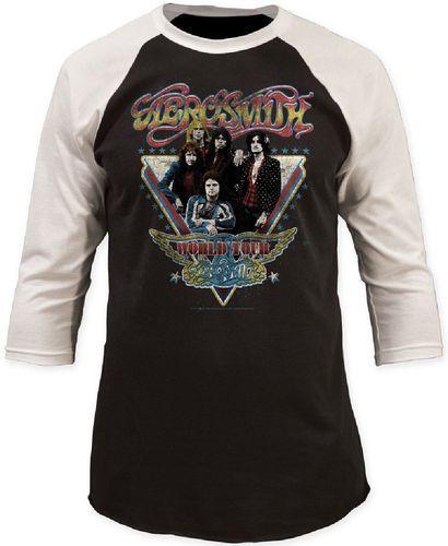 Vintage Aerosmith Band Tshirt - FREE SHIPPING!! OaBXZ