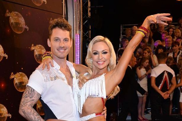 Strictly Come Dancing's Tristan MacManus with professional dancer Kristina Rihanoff