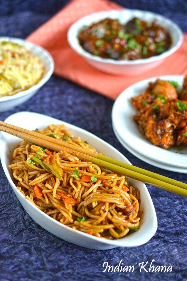 Vegetable Fried Noodles Recipe Vegetable Noodles Recipes