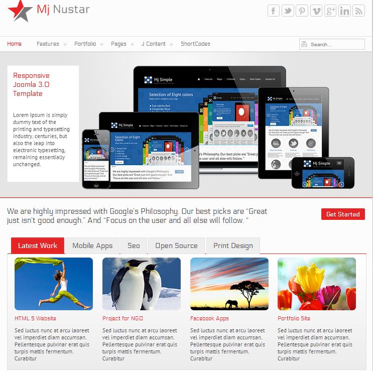 Ausgezeichnet Joomla 3.0 Kostenlose Vorlage Bilder - Beispiel ...