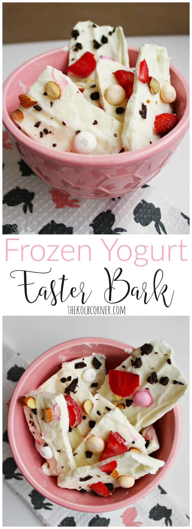 Frozen yogurt easter bark recipe sweet tooth barking fc and frozen yogurt easter bark negle Choice Image