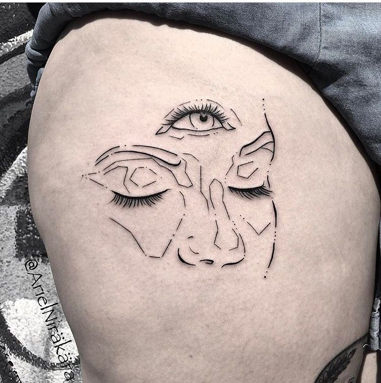 19+ Awesome Third eye tattoo on hand image ideas