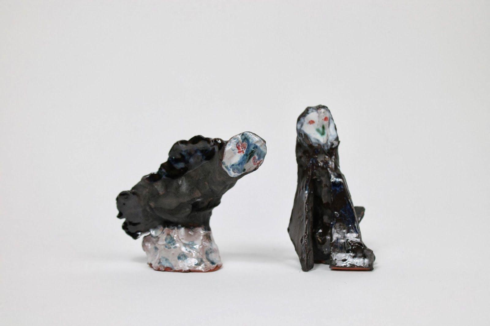 Owl ceramics by Rose de Borman
