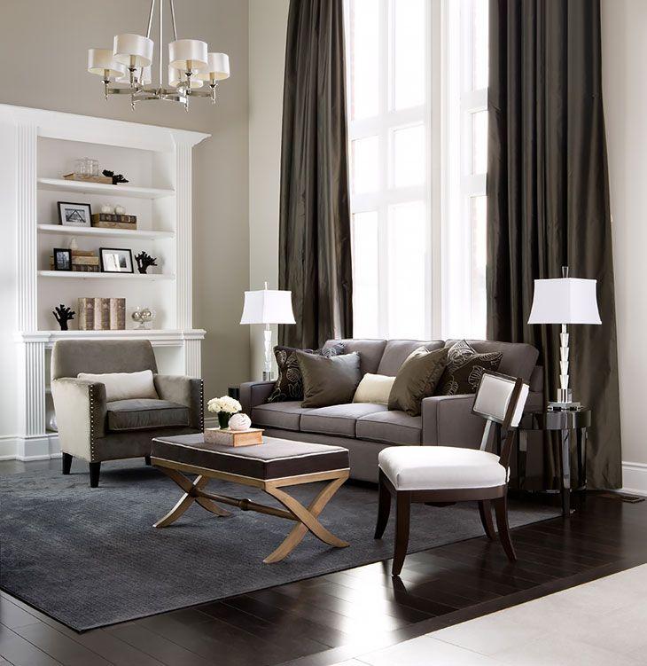 Living Rooms Family Rooms Jane Lockhart Interior Design Grau