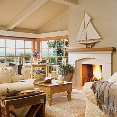 Elegant pacific northwest homes coastal decorating home home decor beach house decor for Elegant coastal living rooms